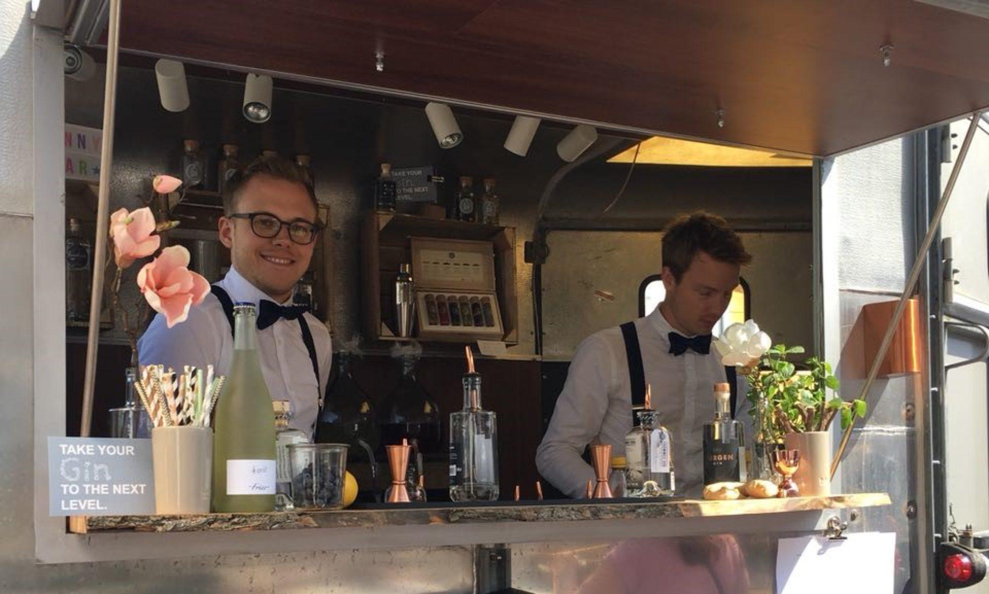 Ginny Bar - Die mobile Gin Bar für Ihr Event!